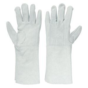 proues(プロウエス) 8711-7 牛床革手袋 5本指背縫い 溶接用 10双/袋 作業用手袋 牛床皮手袋 PROUESU 日光物産(NiKKO)
