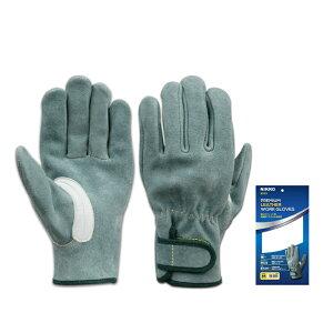 proues(プロウエス) 8910 オイル革手袋マジック 5本指吟当て 高強度アラミド糸 1双 作業用 溶接 オイル皮手袋 レインジャー手袋 PROUESU 日光物産(NiKKO)