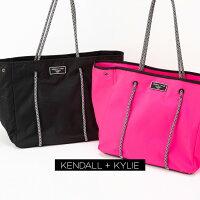 Kendall+KylieELLIEケンダルアンドカイリーエリートートバッグハンドバッグネオプレントートレディース女性婦人