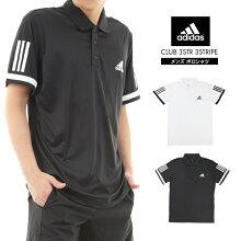 adidasCLUB3STR3STRIPECD7469CE1415アディダスポロシャツポロ男性テニススポーツメンズ