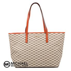 【在庫一掃SALE】【送料無料】MICHAEL KORS EMRY LGTZ TOTEBAG 30F6AE4T7V マイケルコース ラージロゴ トートバッグ レディース 婦人 女性 バッグ 鞄 バック