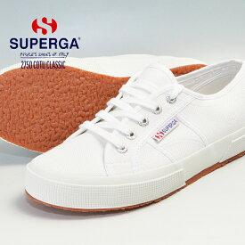 SUPERGA 2750 COTU CLASSIC スペルガ キャンバススニーカー 靴 シューズ メンズ レディース 婦人 紳士 ホワイト 白