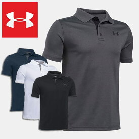 UNDER ARMOUR アンダーアーマー ジュニア 半袖 ポロシャツ ストレッチ Performance Polo Boys Golf Short Sleeve Shirt*