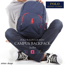 POLORALPHLAURENCAMPUSBACKPACKポロラルフローレンリュックサックレディースメンズ