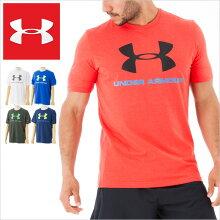 アンダーアーマーTシャツUNDERARMOURTEESHIRTSアンダーアーマーメンズtシャツ半袖ロゴスポーツヒートギア