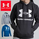 【20%引きクーポン有】UNDER ARMOUR RIVAL FLEECE SPORTSTYLE LOGO HOODIE 1345628 アンダーアーマー メン...