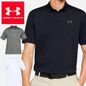 【送料無料】UNDER ARMOUR PERFOMANCE POLO 2.0 1342080 アンダーアーマー ポロシャツ ゴルフ 男性 紳士 メンズ ウェア*