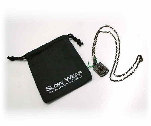 SLOW WEAR スローウェアー ネックレス メンズ SK-9255 メキシカンスカ:GOLD【あす楽対応】