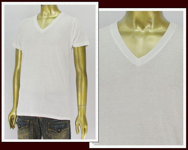 BASIC ユナイテッドアスレ 4.4オンス ブレンドVネック Tシャツ メンズ 【1098-191ホソメ】