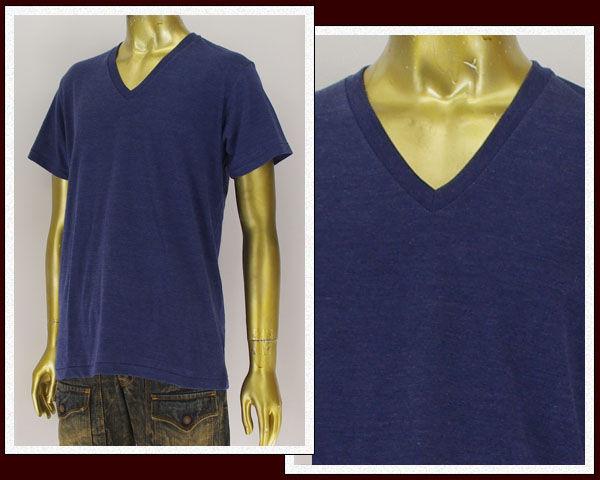 BASIC ユナイテッドアスレ 4.4オンス ブレンドVネック Tシャツ メンズ 【1098-594ホソメ】