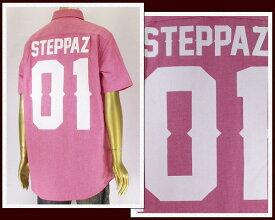 STEPPAZ ステッパーズ BANTY FOOT,NEO HERO,やました〜まん 着用ブランド シャツ メンズ 【PLUSD-34WT】