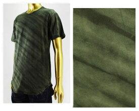 EPTM エピトミ TIGER CAMO GARMENT DYED加工 ロング丈 Tシャツ S/S メンズ 【EP6132ロングタケ カモ】