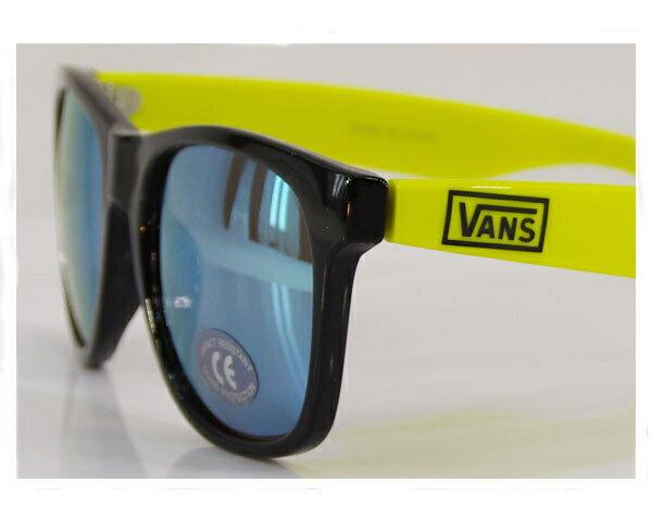 VANS バンズ SPICOLI 4 SHADESウェリントン ウェイファーラー タイプ サングラス メンズ 【VN-OYM3EE3 NEON】