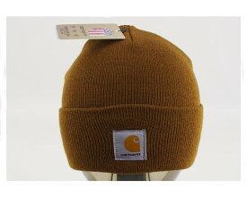 CARHARTT カーハート ニット帽 ワッチ カフ ニットキャップ(KNIT CAP) メンズ 【A18-BRNワッチ】