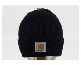 CARHARTT カーハート ニット帽 ワッチ カフ ニットキャップ(KNIT CAP) メンズ 【A18-BLKワッチ】