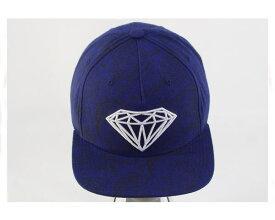 DIAMOND SUPPLY CO ダイアモンド LA発 トップスケートブランド ペイズリー スナップバック キャップ(CAP) メンズ 【C16DMHA13ペイズリ】