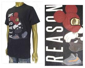 REASON CLOTHING リーズン クロージンク ビッグサイズ 対応 ニューヨーク発 MEAN MUGGER TEE Tシャツ メンズ 【87-108シューズ】