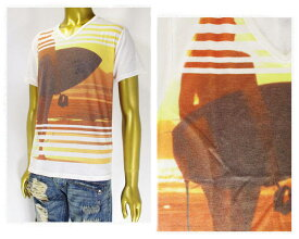 GROWTH BY GRAIL グロウス バイ グレイル プリント サーファー ガール デザイン Tシャツ メンズ 【172-3416 1サーフ】