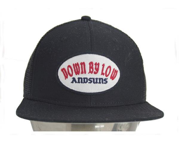 ANDSUNS アンドサンズ DBL TRACKER ワッペンを施したメッシュ キャップ(CAP) メンズ 【AS174709 DBL T】