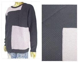 UNLIMITED ABILITY アンリミテッドアビリティー ブロッキングパターン セーター ニットL/S メンズ 【UA317304 ブロッキン】