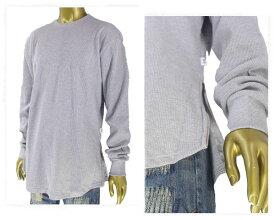 EPTM エピトミ ビッグサイズ対応 SIDE ZIP THERMAL SHIRTS ロング丈 サイドジップ サーマル Tシャツ メンズ 【EP7892 サーマルLタケ】