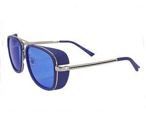 ROI'AL BIJOUX ロイヤルビジュー Loathers C7 Blue カラーレンズ アイウェア サングラス メンズ 【LOATHERS0006】