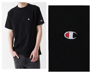 CHAMPION チャンピオン 伝統のCロゴは胸と左腕に刺繍 生地を挟みこんで縫製したバインダーネック JAPANサイジング Tシャツ メンズ 【C3-H359 C3-P300 090Cロゴ】