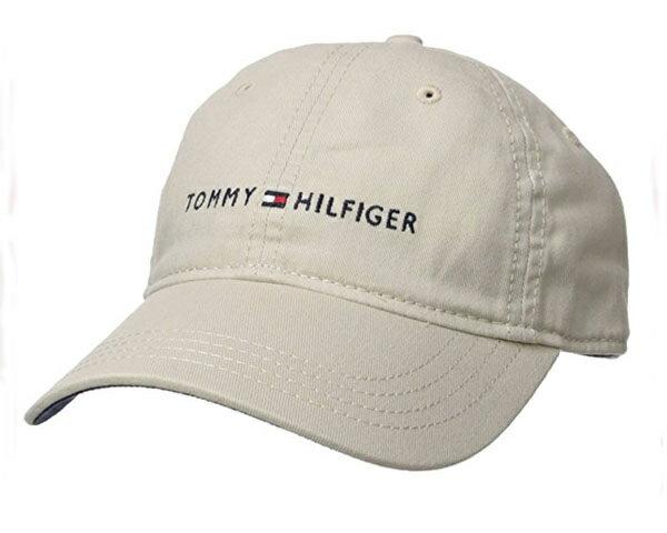 TOMMY HILFIGER トミーヒルフィガー DAD CAP トミーロゴ 刺繍 アジャスター キャップ(CAP) メンズ 【DAD BASEBALL】
