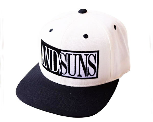 ANDSUNS アンドサンズ OPPOSITE COLOR BASEBALL スナップバック キャップ(CAP) メンズ 【AS184701 OPPO】