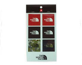 THE NORTH FACE ノースフェイス 7枚のロゴがセットになった ステッカー メンズ 【NN83803 ステッカー】