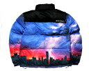 DREAM TEAM ドリームチーム DJ RYOW プロデュース DT LOGO Puffy Jacket 保温性バツグン たっぷり首元まで 中綿ジャケ…
