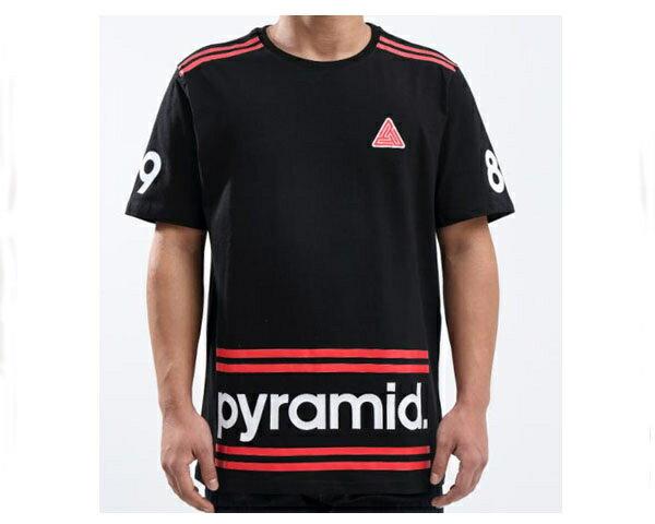 BLACK PYRAMID ブラックピラミッド Chris Brown(クリスブラウン)プロデュース Pyramid Stripes Shirt Tシャツ メンズ 【Y1161860 Stripe】