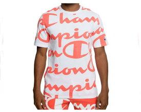 CHAMPION チャンピオン HERITAGE TEE ALL OVER PRINT Tシャツ メンズ 【T1919S CW03-ZNY】