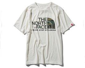 THE NORTH FACE ノースフェイス S/S Camouflage Logo Tee カモフラージュ柄のロゴグラフィック カモフラージュロゴティー Tシャツ メンズ 【NT31932 Wカモロゴ】