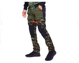 REASON CLOTHING リーズン クロージンク SPORT PANT - CAMO 細身シルエット カモ カーゴ パンツ メンズ 【FO-216】