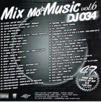 MixMo'MUSICvol.6/DJ034【あす楽対応】