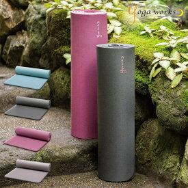 【新春SALE開催】 ヨガワークス ヨガマット 12mm ピラティスマット ヨガ ピラティス マット yoga works