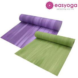 easyoga イージーヨガ ウインドヨガマット 6mm厚 ヨガマット 柄 グラデーション 即納 easy yoga(yme-012)