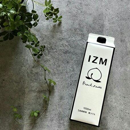 IZM 酵素ドリンク ピーチテイスト peachtaste 1000ml