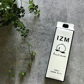 【最大15%OFFクーポン配布中】 IZM 酵素ドリンク ピーチテイスト peachtaste 1000ml
