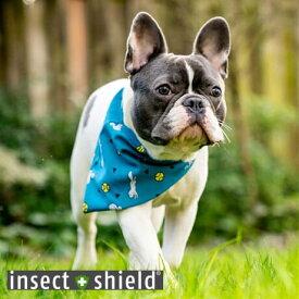【SALE セール】 インセクトシールド 犬用虫よけバンダナ insect shield ボール&リス【虫よけ 虫除け ペット お散歩 犬】