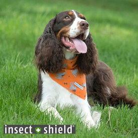 インセクトシールド 犬用虫よけバンダナ insect shield ドッグ&ボーンズ【虫よけ 虫除け ペット お散歩 犬】
