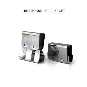 BILLBOARD - CLIP 15P SET ビルボード《クリップ15セット》ビルボード