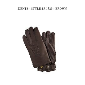 DENTS - STYLE 15-1529 - BROWN【国内正規】デンツ ヘアシープ カシミア グローブ 手袋