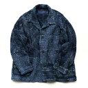 Porter Classic - KOGIN JACKET - BLUE ポータークラシック《こぎん ジャケット》ブルー