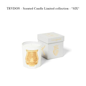 TRVDON - Scented Candle Limited collection - SIX 【国内正規】【クリスマス用に ラッピング無料】センテッドキャンドル シール トゥルドン TRUDON