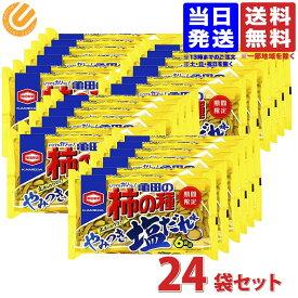 亀田製菓 亀田の柿の種 やみつき塩だれ味 182g ×24個 送料無料(一部地域を除)