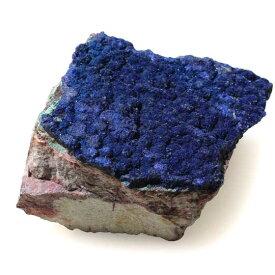 ブラジル産アズライト原石 母岩付き 天然石パワーストーン メール便不可