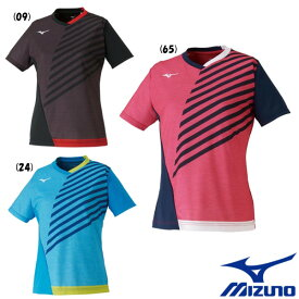 送料無料◆MIZUNO◆2020年2月発売◆ウィメンズ ゲームシャツ 82JA0202 ミズノ 卓球 ウェア