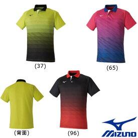 5%OFFクーポン対象◆送料無料◆MIZUNO◆2020年2月発売◆ユニセックス ゲームシャツ 62JA0004 ミズノ テニス バドミントン ウェア